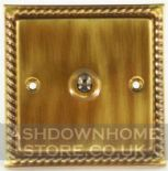 Monarch Roped Antique Bronze Toggle Light Switches